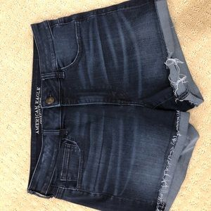 American eagle stretchy and soft jean short